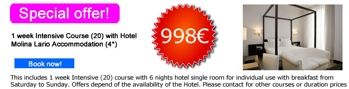 Hotel (4*) in Malaga Center | Special Offer
