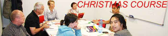 Cervantes Christmas Course