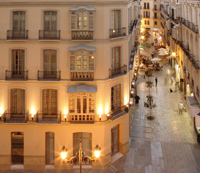 Hotel (4*) in Malaga Center